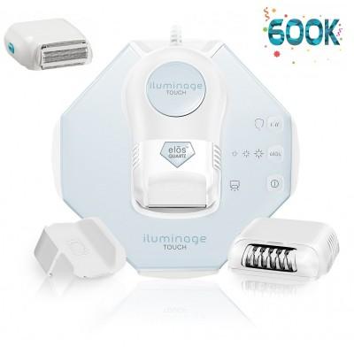 iluminage Touch Advance Combo Kit - 600,000 flashes (!) + Precision Adapter + Epilator Cartridge + Shaver Cartridge